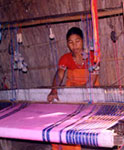 Bodo Woman Weaving